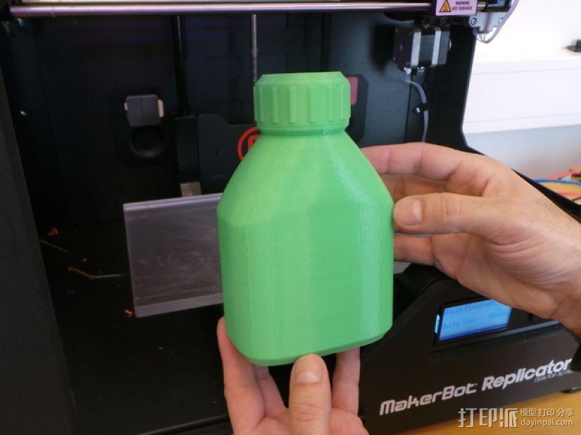 3D打印的瓶子瓶盖模型 3D模型  图11