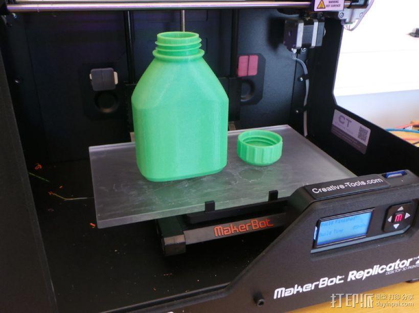 3D打印的瓶子瓶盖模型 3D模型  图12