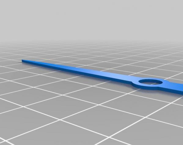 迷你仪表盘挂钟模型 3D模型  图10