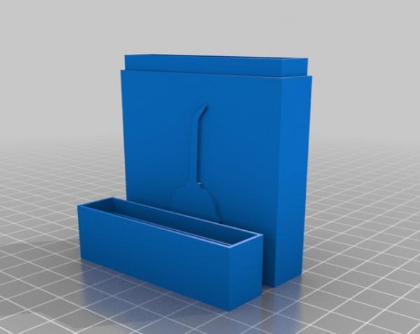 定制化名片盒模型 3D模型  图3