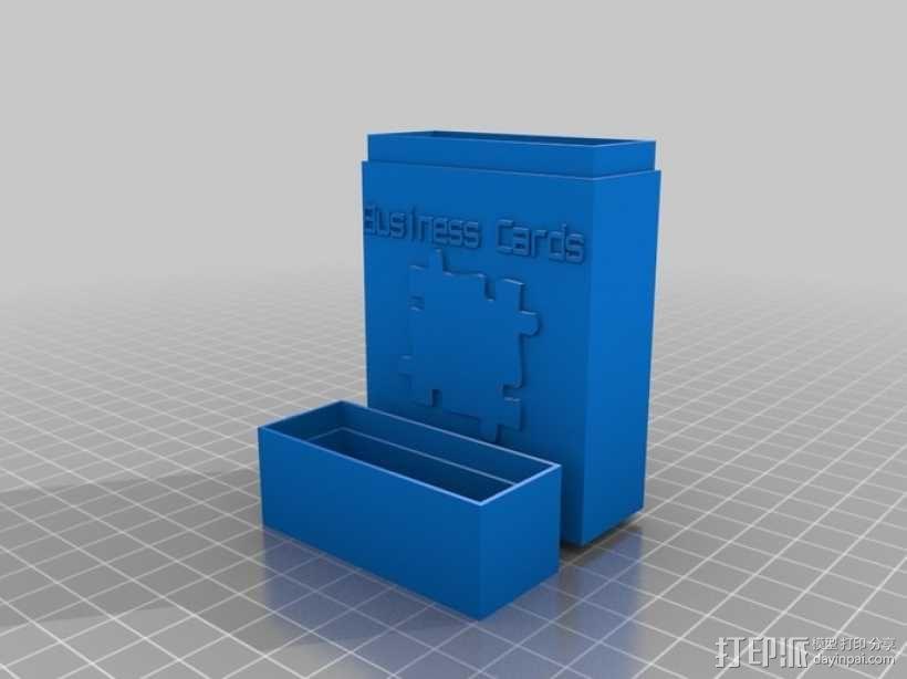 定制化名片盒模型 3D模型  图4