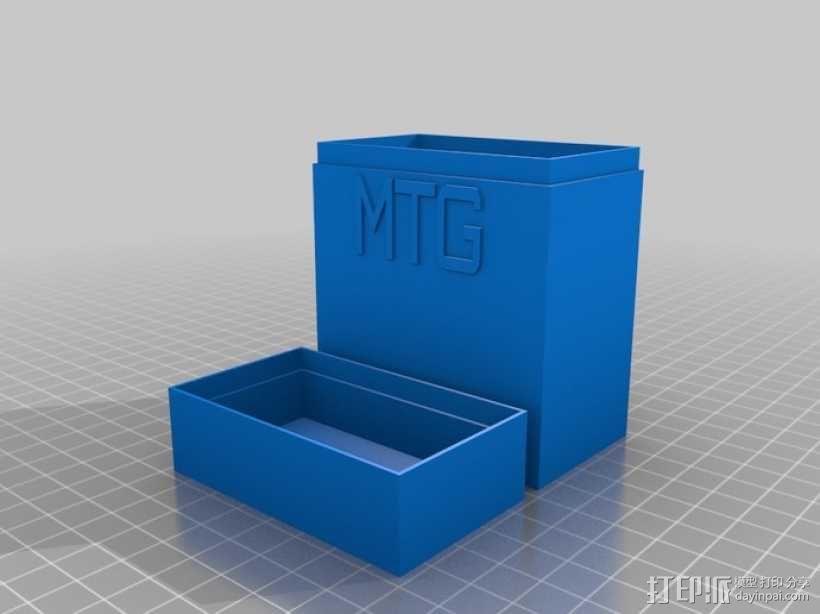 定制化名片盒模型 3D模型  图5