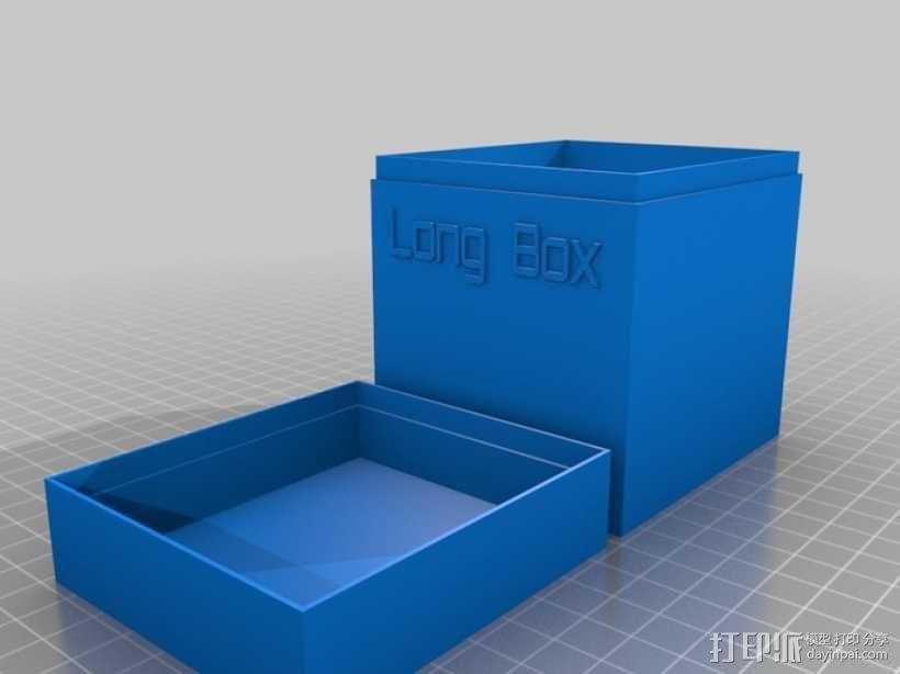 定制化名片盒模型 3D模型  图6