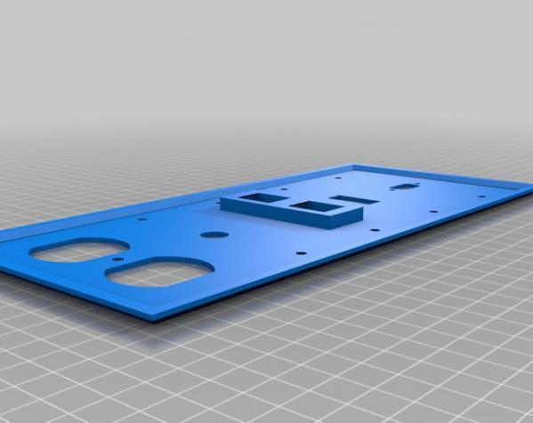 定制化壁装插座板 3D模型  图8