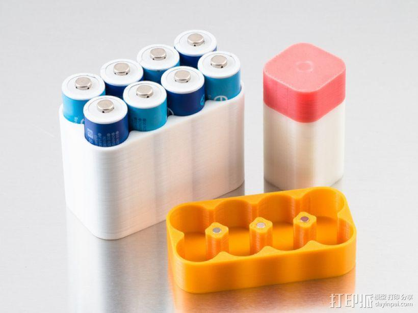 定制化电池盒模型 3D模型  图1
