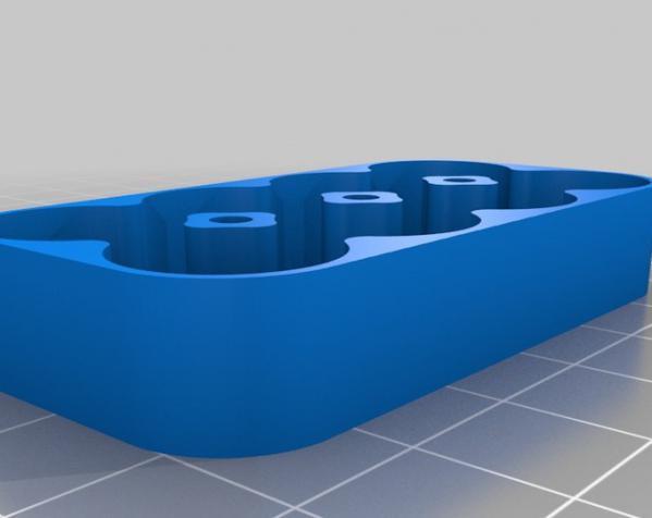 定制化电池盒模型 3D模型  图5