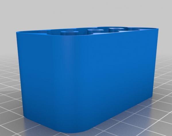 定制化电池盒模型 3D模型  图4