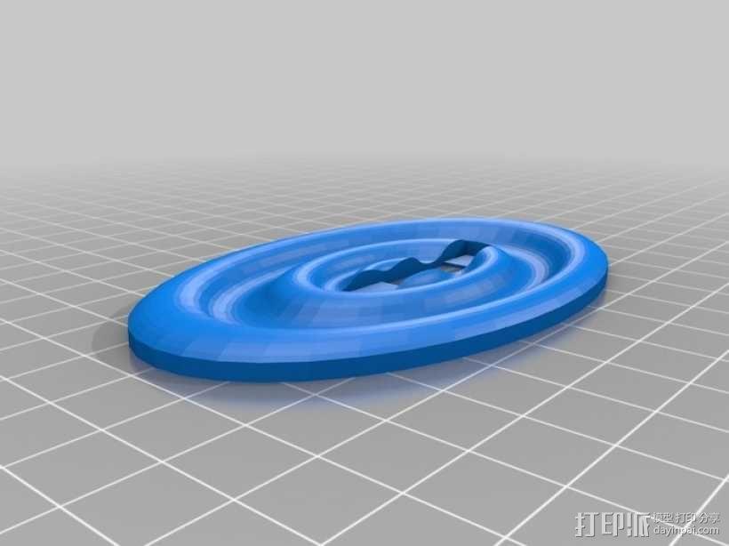 迷你人形书立模型 3D模型  图8