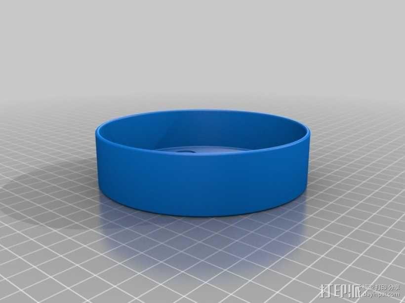 迷你猫碗模型 3D模型  图3