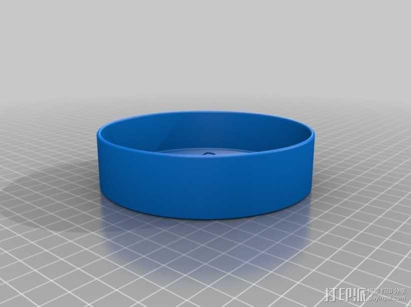 迷你猫碗模型 3D模型  图4
