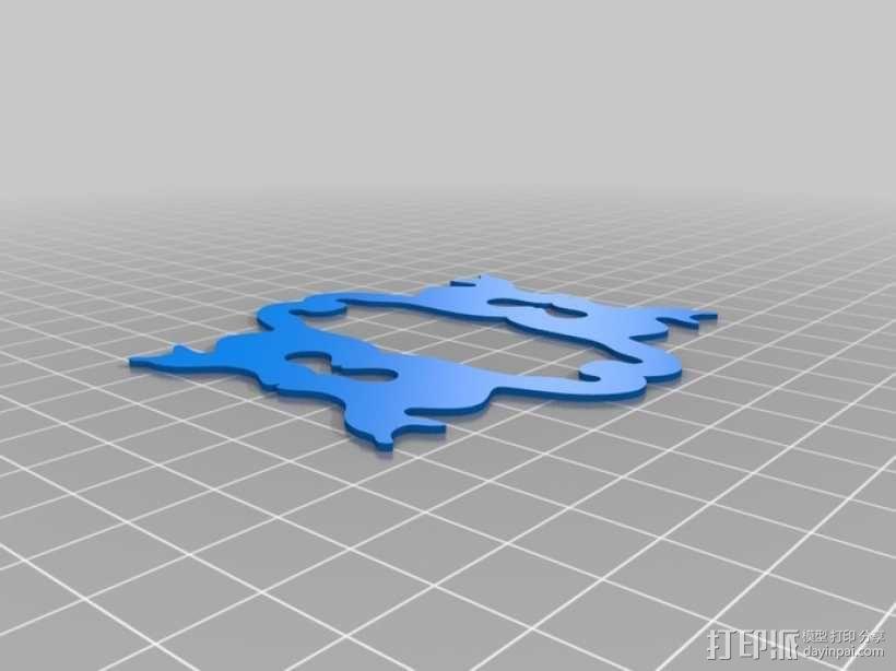 迷你猫碗模型 3D模型  图7