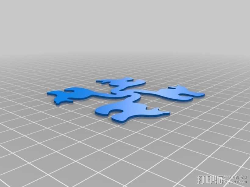迷你猫碗模型 3D模型  图6
