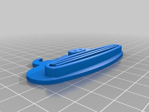 动物性牙膏挤出机模型 3D模型  图6