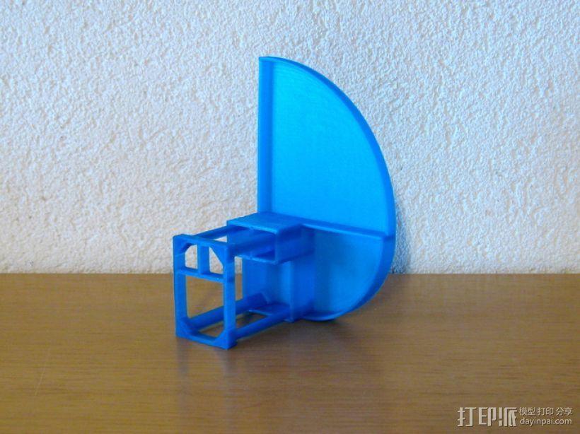 办公用品整理装置 3D模型  图4