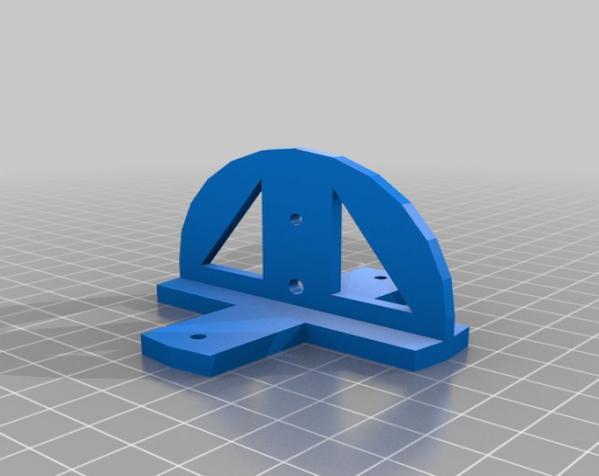 聚光灯旋转底座模型 3D模型  图5