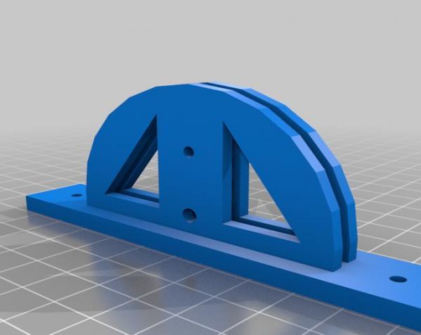 聚光灯旋转底座模型 3D模型  图6