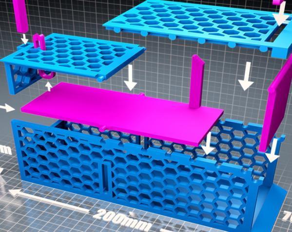 迷你捕鼠器模型 3D模型  图2