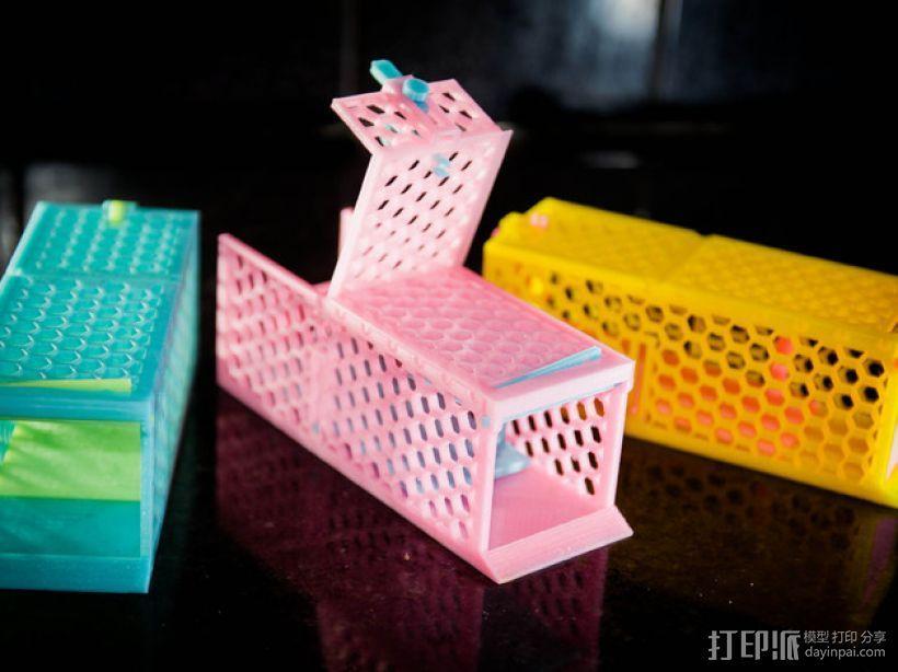 迷你捕鼠器模型 3D模型  图1