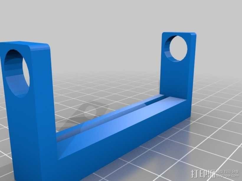 管状物品挤出装置 3D模型  图4