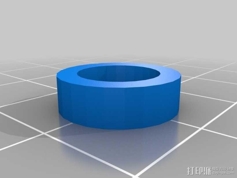管状物品挤出装置 3D模型  图3