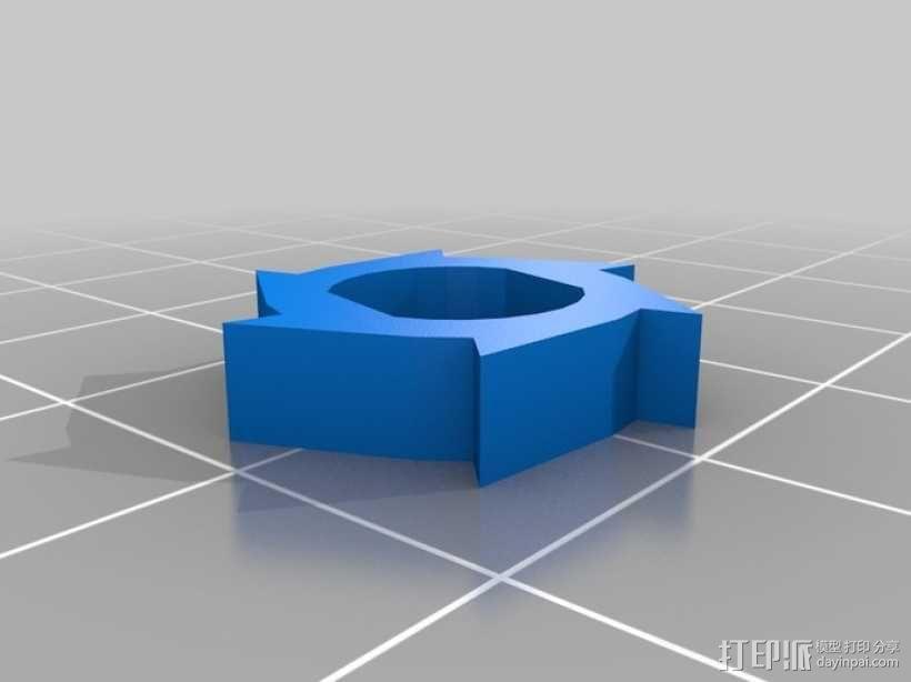 管状物品挤出装置 3D模型  图6
