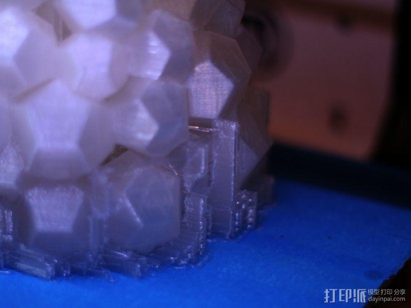 迷你几何形灯罩模型02 3D模型  图8