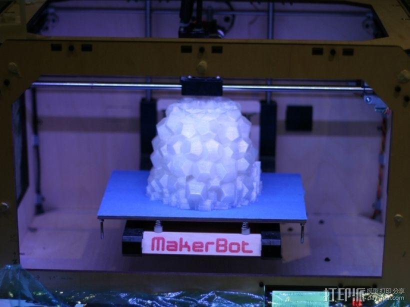 迷你几何形灯罩模型02 3D模型  图7