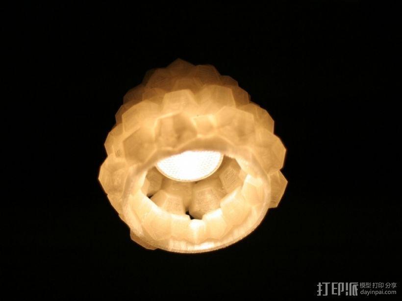 迷你几何形灯罩模型02 3D模型  图10