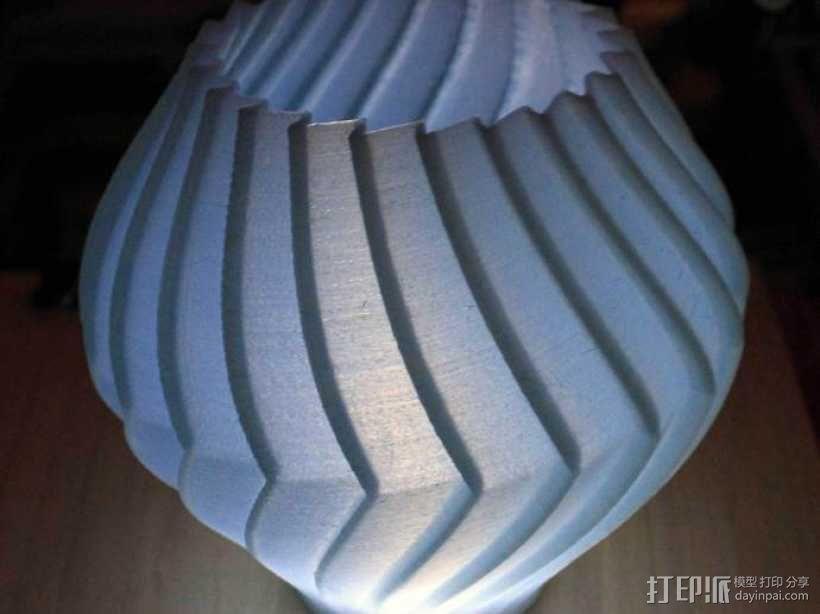 锯齿形花瓶模型 3D模型  图8