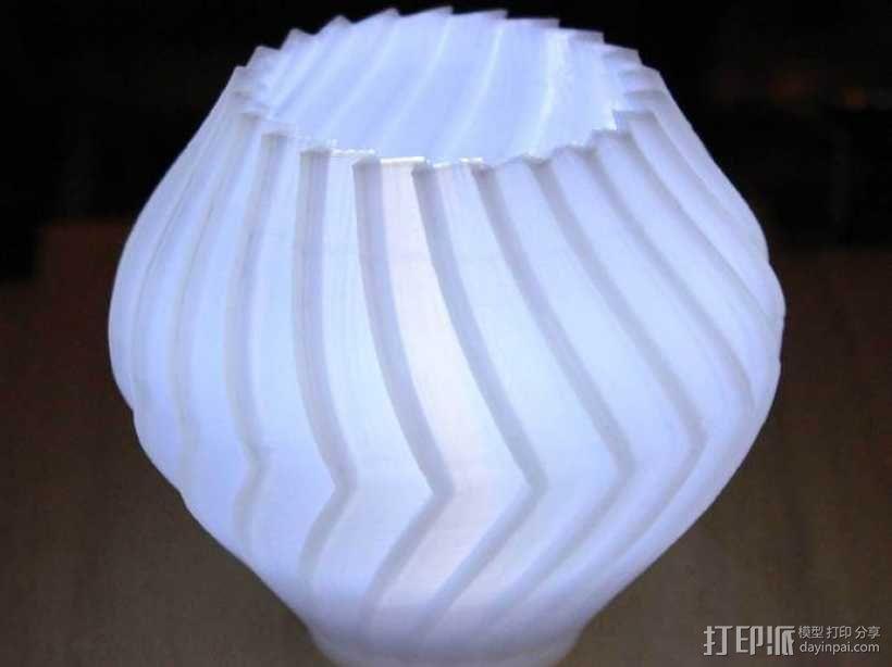 锯齿形花瓶模型 3D模型  图11