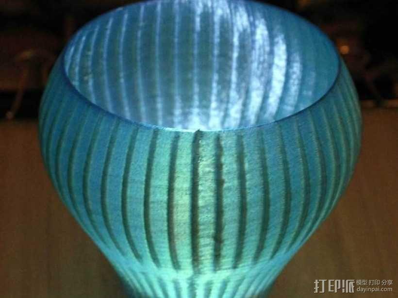 锯齿形花瓶模型 3D模型  图9