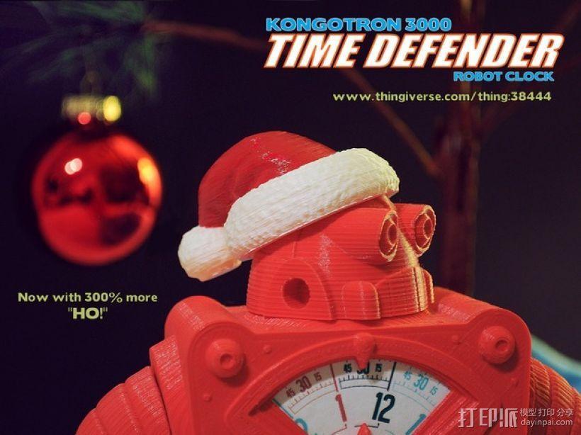 时间守护者:机器人时钟 3D模型  图6