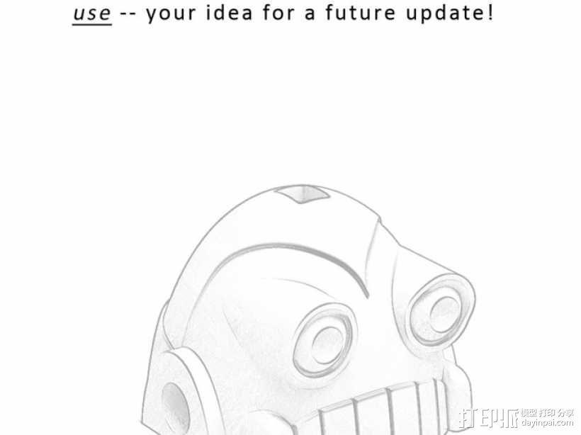 时间守护者:机器人时钟 3D模型  图14