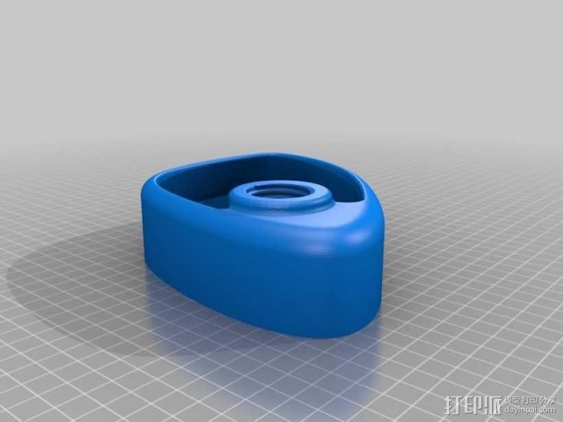猫咪饮水盆模型 3D模型  图1
