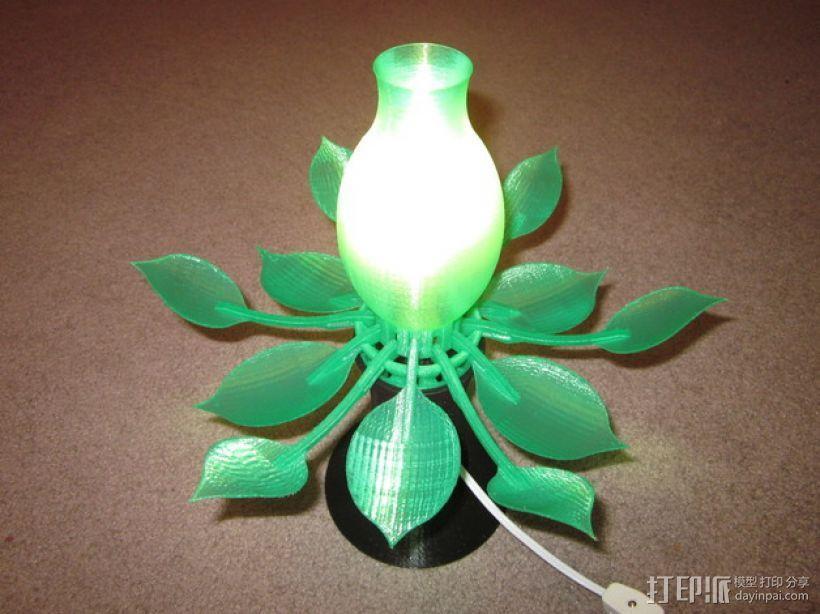 花形灯罩模型 3D模型  图5
