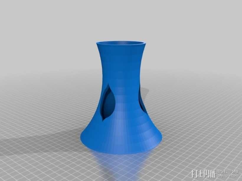 花形灯罩模型 3D模型  图8
