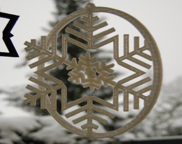 雪花形回转仪模型 3D模型  图6