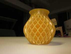 菱形花瓶模型 3D模型