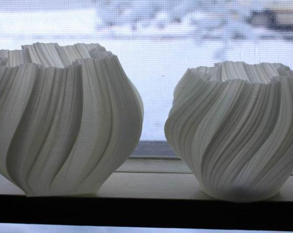 不规则六边形花瓶模型 3D模型  图5