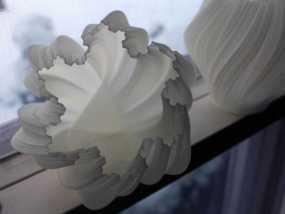 不规则六边形花瓶模型 3D模型