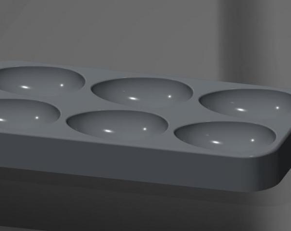 鸡蛋托盘模型 3D模型  图1