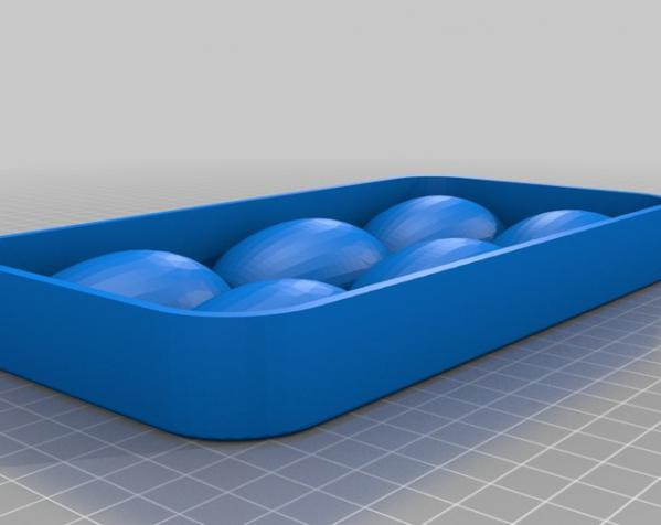鸡蛋托盘模型 3D模型  图3