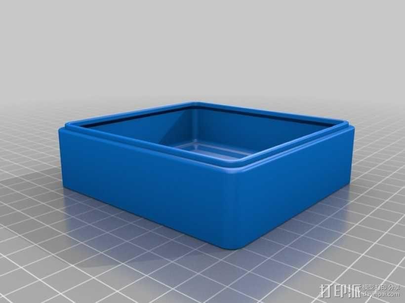 迷你Tardis箱模型 3D模型  图5
