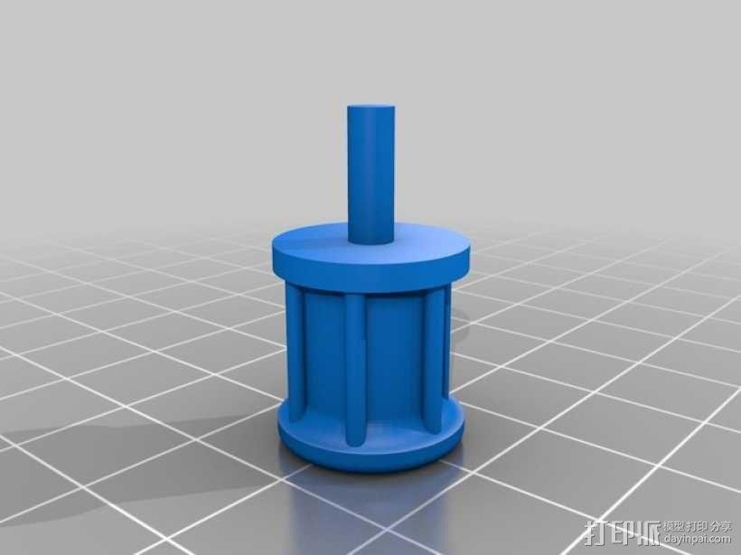 迷你Tardis箱模型 3D模型  图4