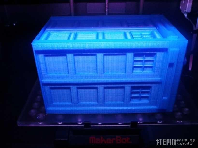 迷你Tardis箱模型 3D模型  图10