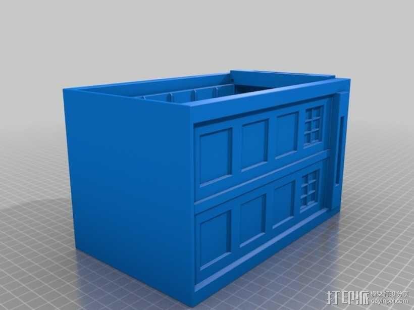 迷你Tardis箱模型 3D模型  图11