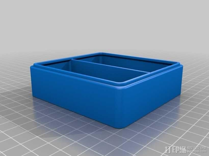 迷你Tardis箱模型 3D模型  图13