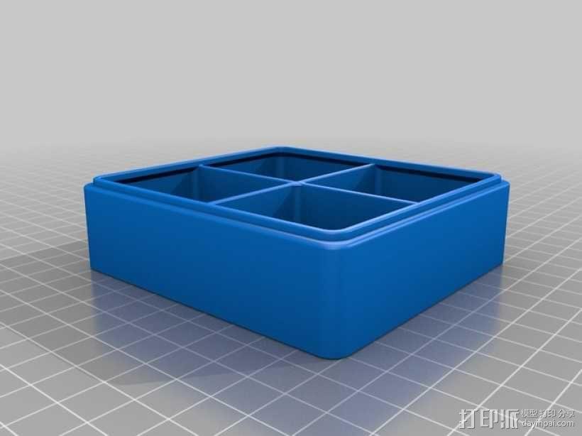 迷你Tardis箱模型 3D模型  图14