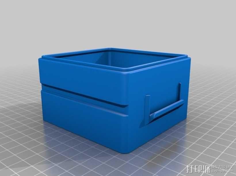 迷你Tardis箱模型 3D模型  图16