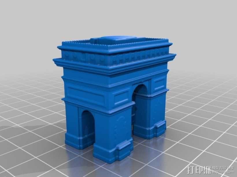 巴黎著名的建筑 3D模型  图3